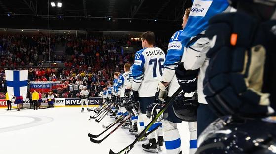 2019년 월드챔피언십 경기 모습. [사진 IIHF]