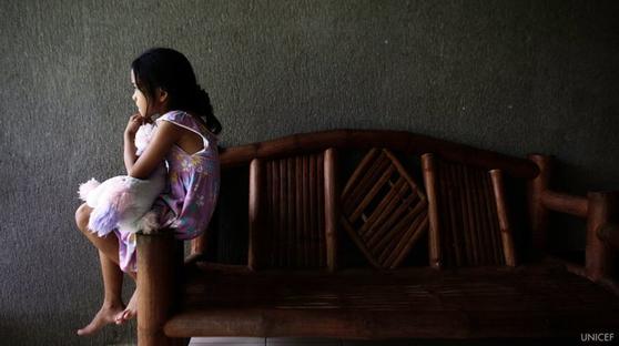 """이달초 UN 보고서는 """"아동의 온라인 성 착취 문제는 현실보다 과소평가돼 있다""""고 밝혔다. [유니세프, UN 공식 트위터]"""