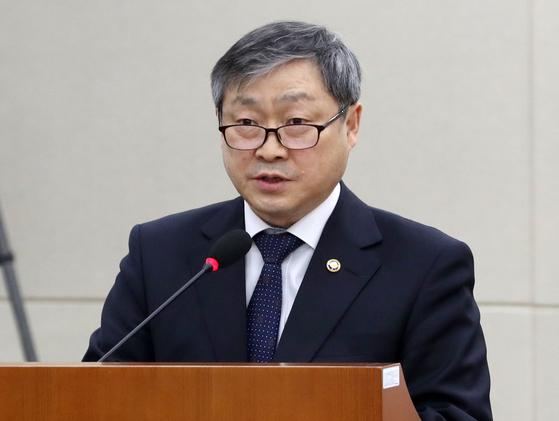 박백범 교육부 차관 [뉴스1]