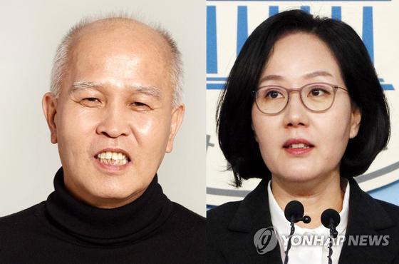 이용우 더불어민주당 후보(왼쪽)와 김현아 미래통합당 후보. [연합뉴스]