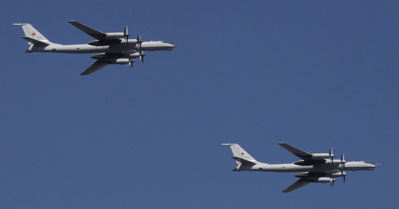 러시아 Tu-95 전략폭격기. EPA=연합뉴스