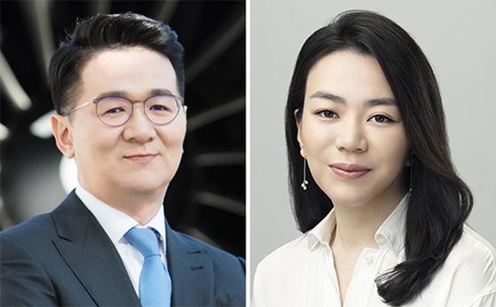 조원태(左), 조현아(右)
