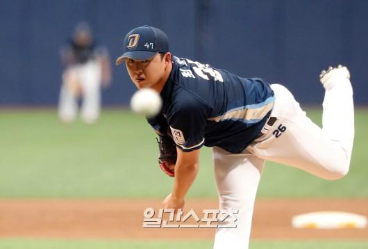 올 시즌 NC 5선발 후보로 경쟁 중인 최성영. IS포토