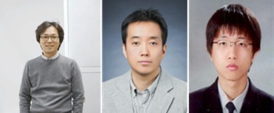 [(좌측부터)김성웅 교수, 황재열 교수, 이승용 연구원]