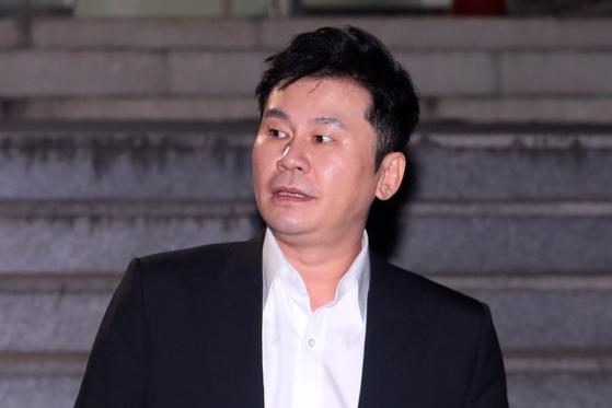 양현석 전 YG엔터테인먼트 총괄 프로듀서. 뉴스1