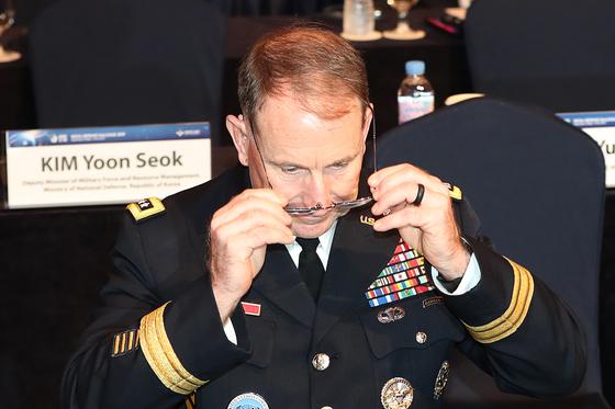 로버트 에이브럼스 주한미군 사령관. 장진영 기자