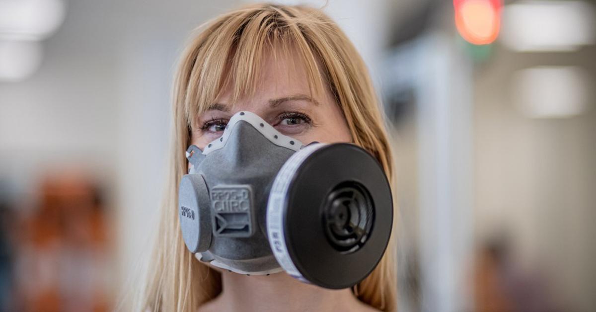 체코에서 3D 기술로 개발된 마스크. EPA=연합뉴스