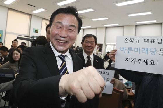 손학규 전 바른미래당 대표. 임현동 기자