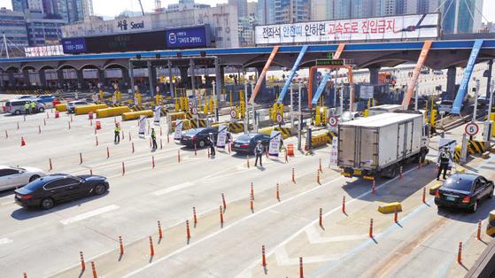 한국도로공사는 고속도로 교통사고 사망자 역대 최소를 향해 부문별 교통안전 종합대책을 수립해 적극적으로 추진하고 있다. [사진 한국도로공사]