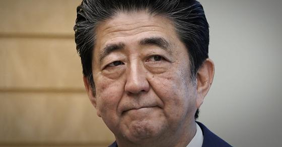 아베 신조 일본 총리. AP=연합뉴스
