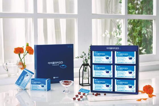종근당건강의 '아이클리어2.0'은 눈 건강을 위한 핵심 성분을 담은 건강기능식품이다.