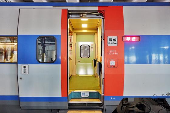 KTX는 특실이 2~4호차에 위치해 있다. [사진 코레일]