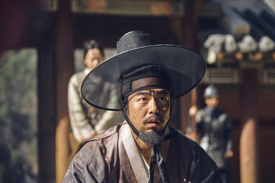 '킹덤'에서 조범팔 역할로 활약하고 있는 배우 전석호. [사진 넷플릭스]