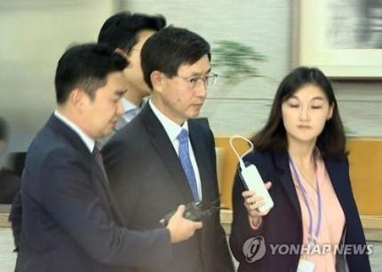 지난 2017년 연제욱 전 사령관 검찰 출석 모습. 연합뉴스TV