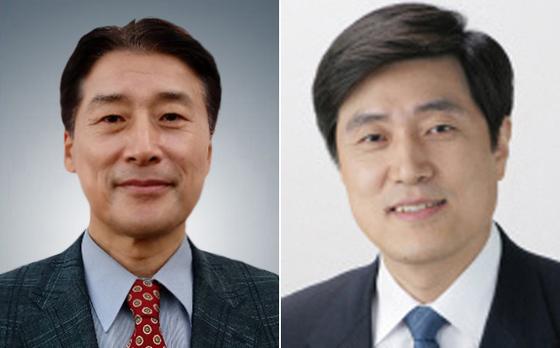 김창룡(左), 안형환(右)