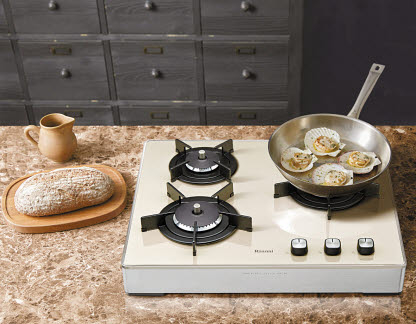 린나이는 효율·편의기능·환경성·디자인 면에서 최고 수준의 가스레인지를 선보이고 있다.