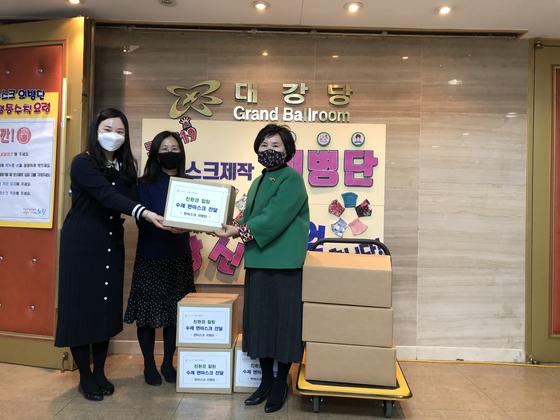 노원구청 면 마스크 의병단 물품 기부.