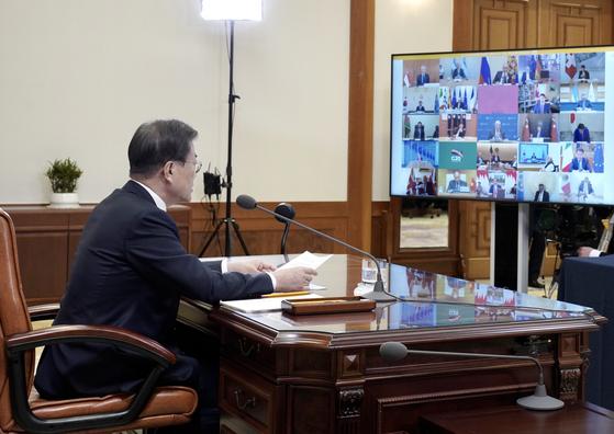 """G20 """"15일까지 코로나19 행동계획…신흥국 금융지원 포함"""""""