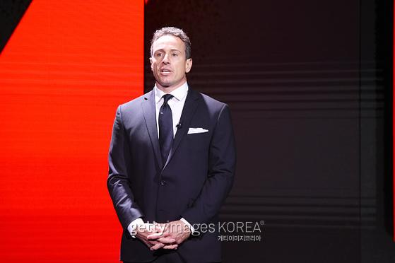 NEW YORK, NEW YORK - MAY 15: Chris Cuomo of CNN?s Cuomo Prime Time speaks onstage during the WarnerMedia Upfront 2019 show at The Theater at Madison Square Garden on May 15, 2019 in New York City. 602140 (Photo by Kevin Mazur/Getty Images for WarnerMedia
