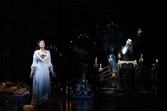 지난해 12월 부산에서 첫 공연된 '오페라의 유령' 월드투어 한국 공연. 중앙포토