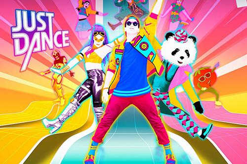 'Just Dance' 게임. 동작을 인식하여춤을 추는 게임, 생각보다 체력소모가 상당하다.