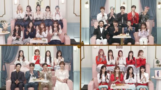 KBS 2TV '불후의 명곡' 주현미 편 참가자들