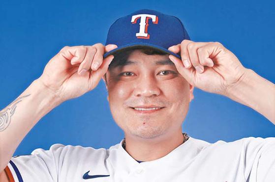미국 메이저리그 텍사스 레인저스의 최고 연봉선수 추신수. [AFP=연합뉴스]
