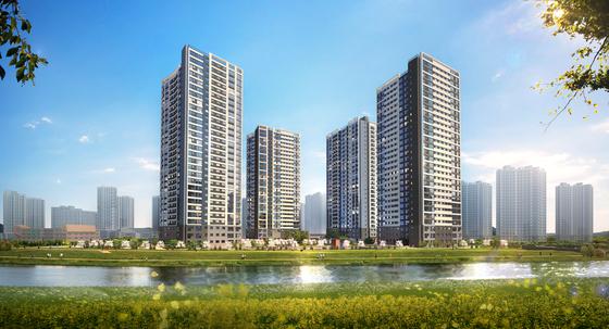 '스마트 도시' 검단신도시의 역세권 아파트