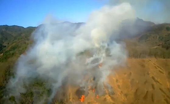 전국 곳곳 산불로 2㏊ 잿더미···경찰·소방당국 화재 원인 조사