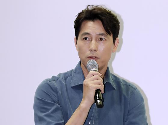 배우 정우성. 일간스포츠