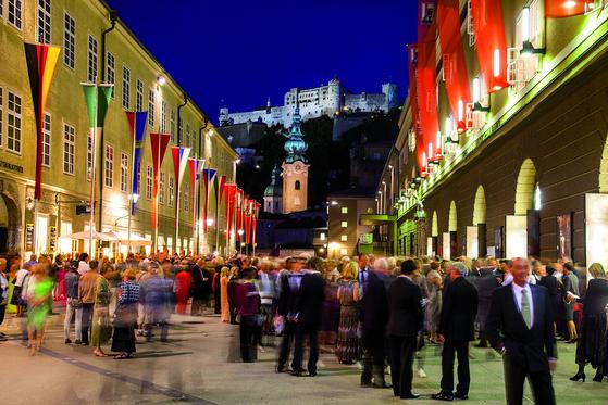 매년 여름 티켓 수입 약 2500만 유로(약 350억원)를 올리는 세계적 음악축제 잘츠부르크 페스티벌. [사진 잘츠부르크 페스티벌]