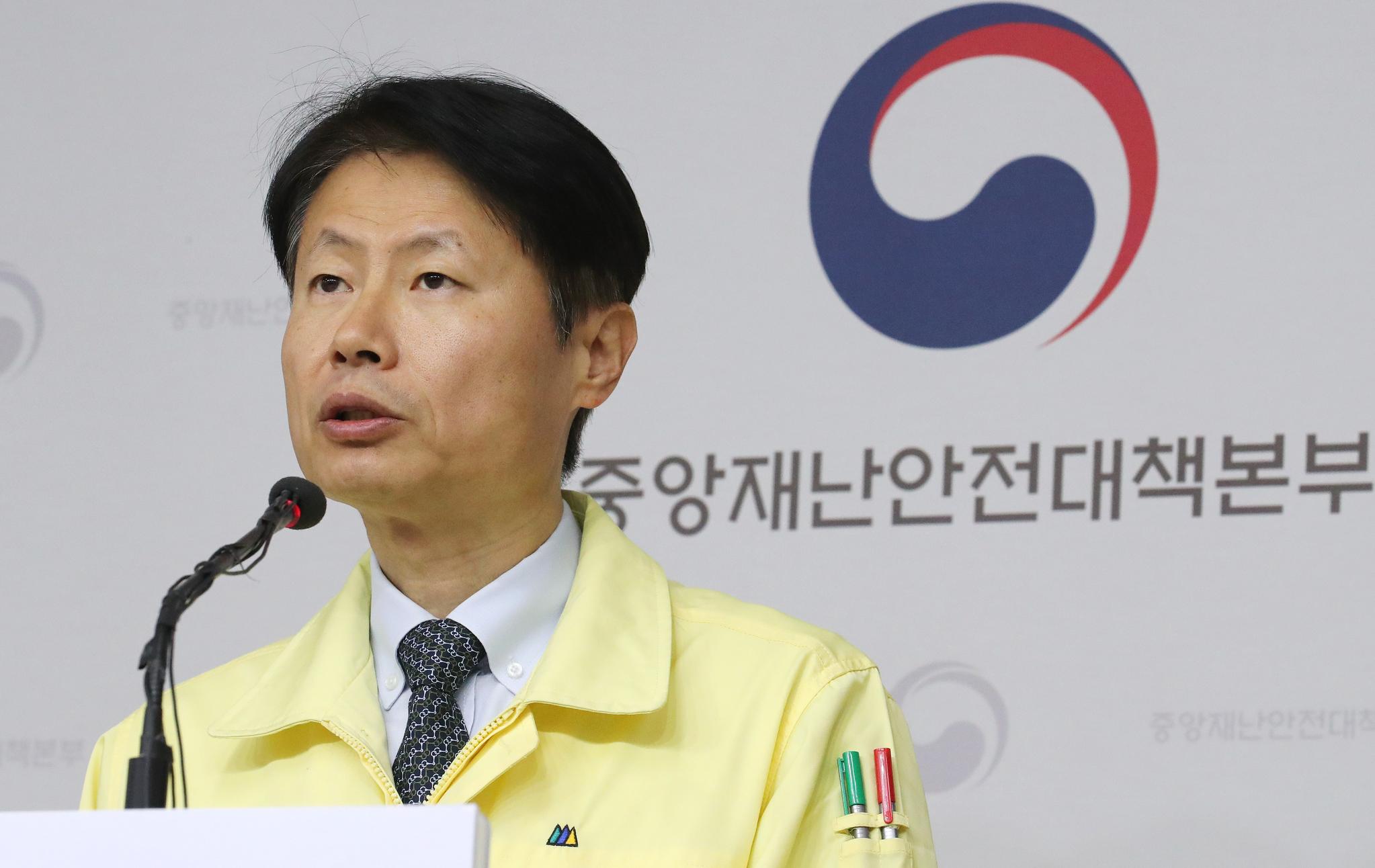 김강립 중앙재난안전대책본부 제1총괄조정관(보건복지부 차관). 연합뉴스