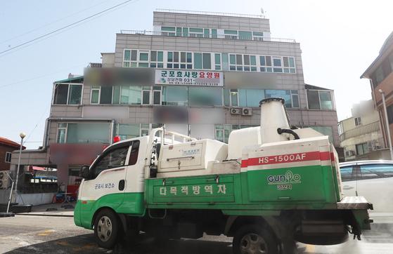경기 군포시 효사랑요양원. 연합뉴스