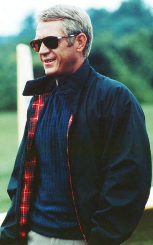 해링턴 재킷은 미국 드라마에 등장한 로드니 해링턴이 이 재킷을 입고 나온 것에서 유래한 것으로 활용도가 높아 야외활동이 많은 사람에게 인기가 높다. [사진 Pinterest]