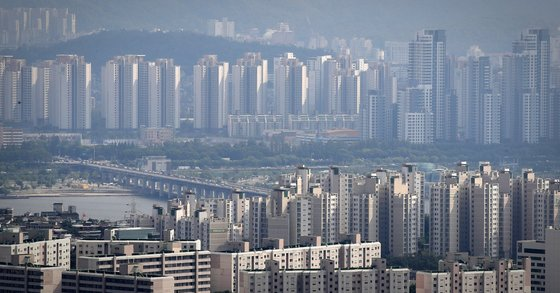 서울 시내 아파트 단지의 모습. 연합뉴스