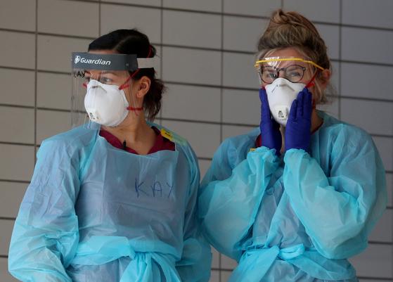영국 런던서 수술용 마스크 3장 훔친 남성, 징역 3개월