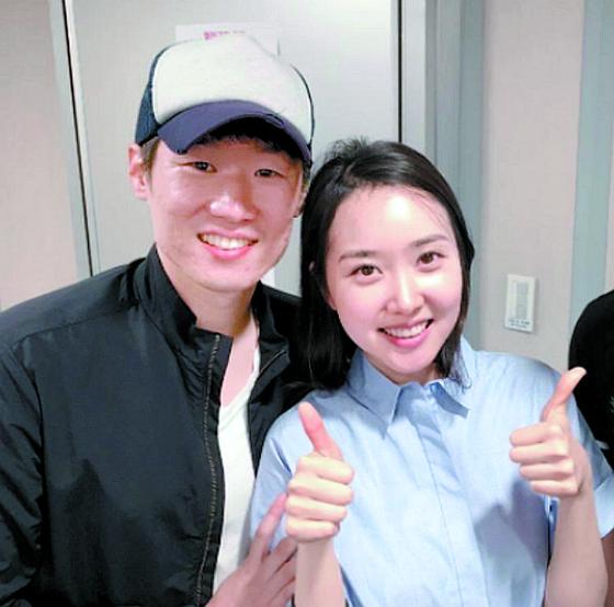 """박지성 """"안용중 축구부 후배들, 코로나 극복 중인 한국처..."""