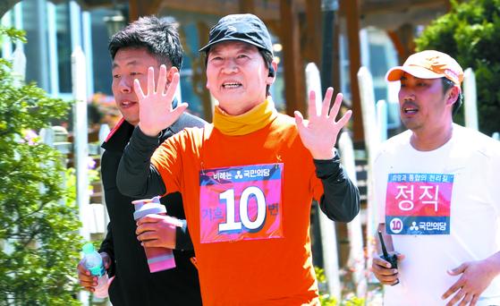 [사진] 대전 도착한 안철수