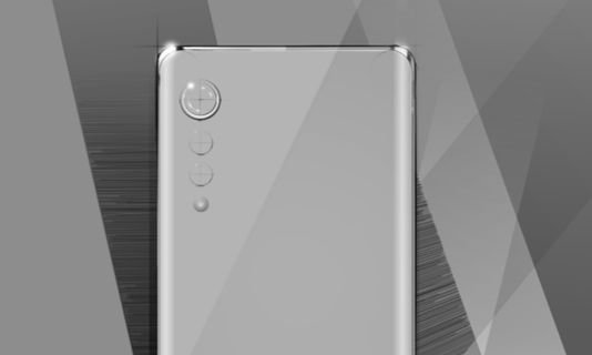 LG의 새 전략 스마트폰 렌더링 이미지. [자료 LG전자]
