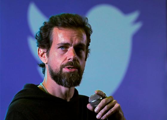 잭 도시 트위터 CEO가 신종 코로나 감염증 대처를 위해 자신의 재산 30%를 기부해 크게 화제가 되고 있다. [로이터=연합뉴스]