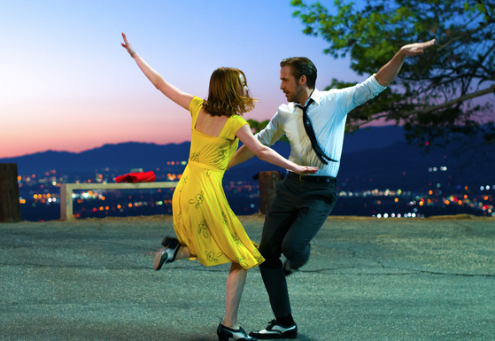 2016년 개봉해 360만 관객을 끌어모았던 '라라랜드'는 최근 재개봉 흥행도 좋은 편이다. [사진 판씨네마]