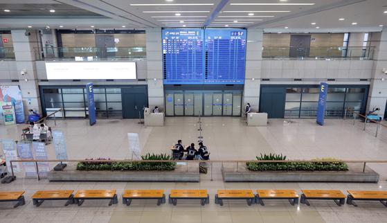 인천국제공항 입국장의 모습. 뉴스1