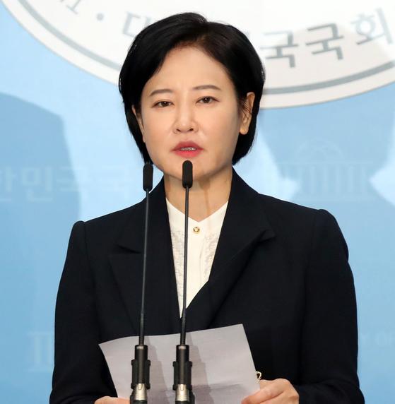 더불어민주당 서울 동작을 국회의원 후보인 이수진 전 판사. 변선구 기자