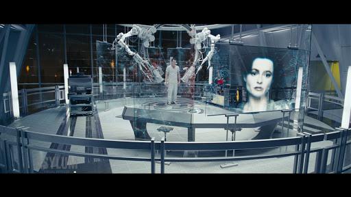 SF영화 터미네이터에 나오는 강인공지능 스카이넷의 한 장면.