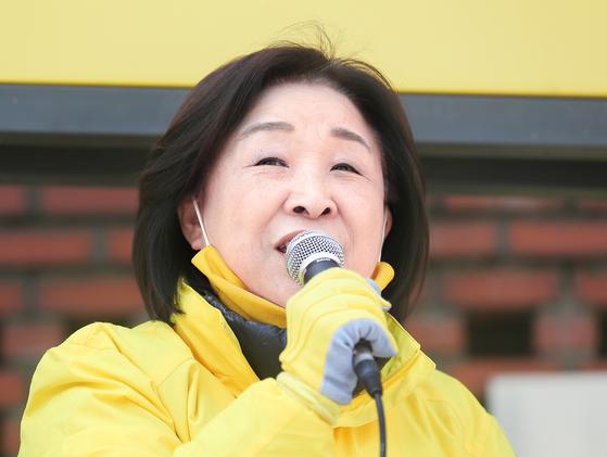 정의당 심상정 후보 [연합뉴스]