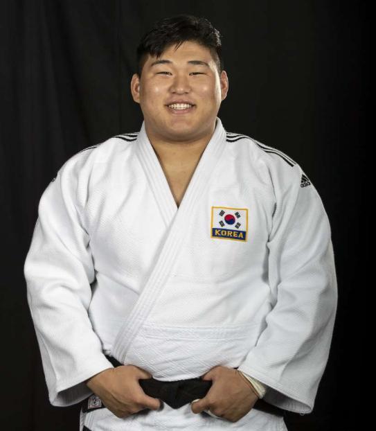 김민종은 남자 유도대표팀 막내이자, 유일한 대학생 국가대표 1진이다. [사진 IJF]