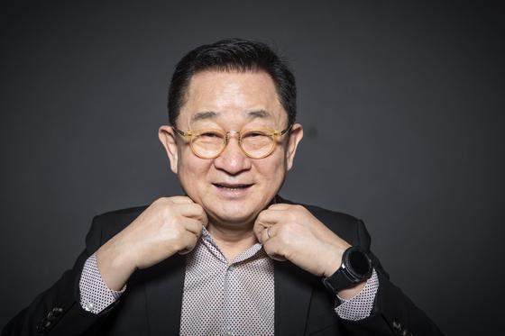 """개그맨 이홍렬. '지금 우리 세대가 할 수 있는 일""""에 대해 강조했다. 권혁재 사진전문기자"""
