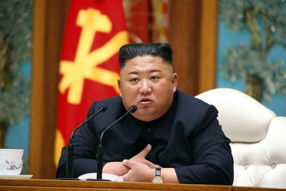 김정은 북한 국무위원장. 평양 노동신문=뉴스1