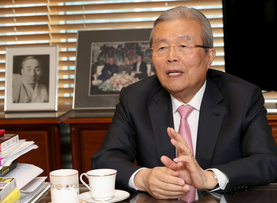 김종인 전 미래통합당 총괄 선거대책위원장. 최정동 기자