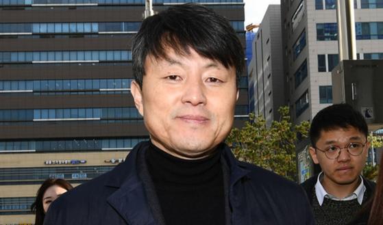 유재수 전 부산시 경제부시장. 변선구 기자